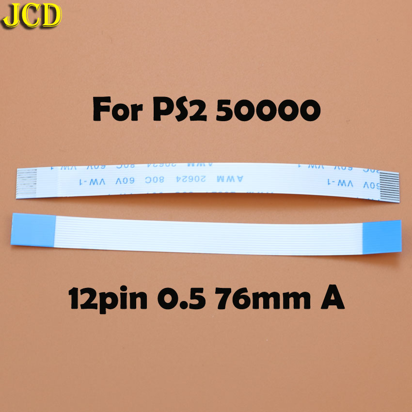 Image 3 - JCD 2pcs 7pin 8pin 12pin Ribbon Flex Cable for Sony playstation 2 PS2 Controller Charging PCB Board and Power switch Flex Cable-in Replacement Parts & Accessories from Consumer Electronics
