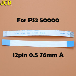 Image 3 - JCD 2pcs 7pin 8pin 12pin Ribbon Flex Cable for Sony playstation 2 PS2 Controller Charging PCB Board and Power switch Flex Cable