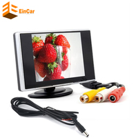 3 5 Car Monitor High Definition Car Color TFT LCD Monitor Rearview DVD