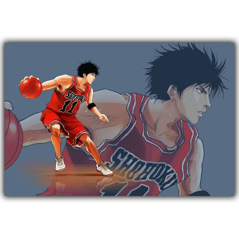 Slam Dunk Poster Popular Classic Japanese Anime Home Decor