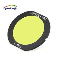 OPTOLONG EOS C l pro klips na filtrze optyczny teleskop astronomiczny filtr do kamery 7D Mark II, 80D/800D, 77D/70D/760D LD1003C