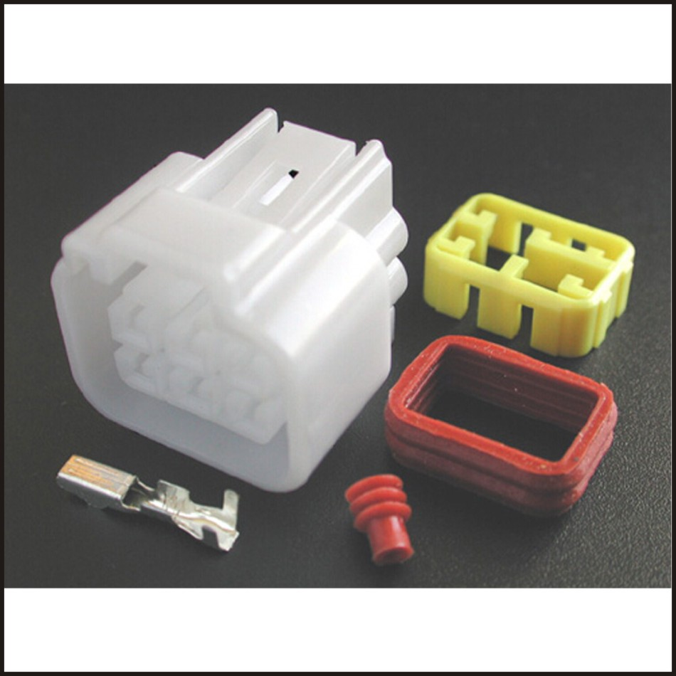 Male Connector Female Wire 6 Pin Terminal Harness Tool Plugs Socket Fuse Box Soft Jacket Dj7061y 23 21