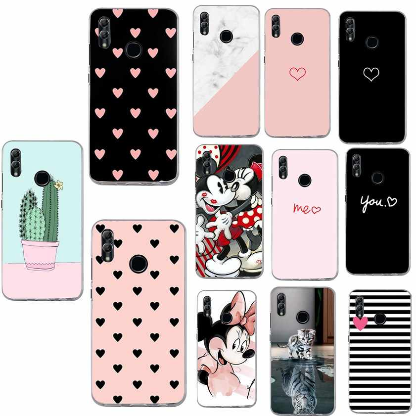 Luxury Coque For Huawei Y5 Y6 Prime 2018 P20 Pro P10 Lite Honor 7A 9 Lite Mate 20 Lite P Smart 2019 Case phone accessories