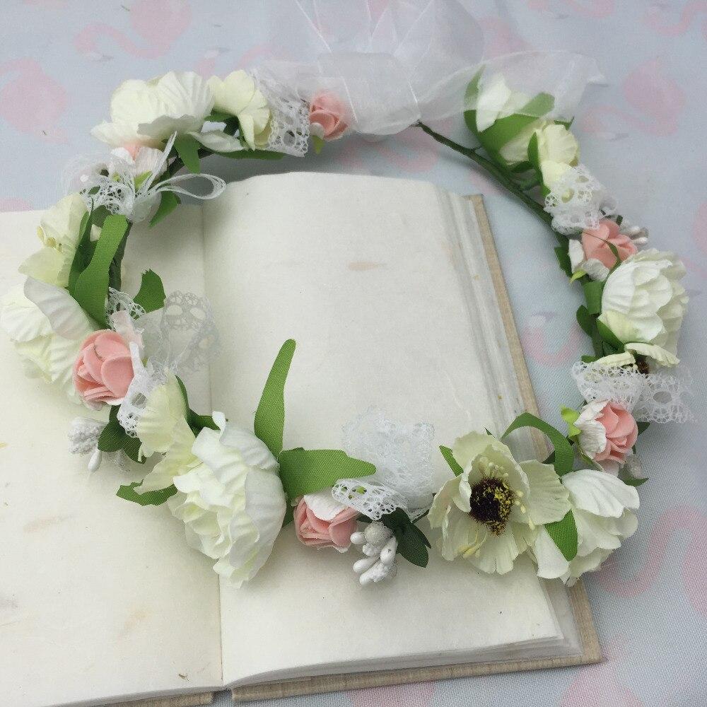 Fashion Delicate Bridal Flower Headpiece Wedding Hair Accessories