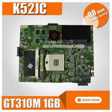K52JC Motherboard 2.2 GT310M 1GB 8 pieces For ASUS K52JC K52JR Laptop motherboard K52JC Mainboard K52JC Motherboard test 100% OK