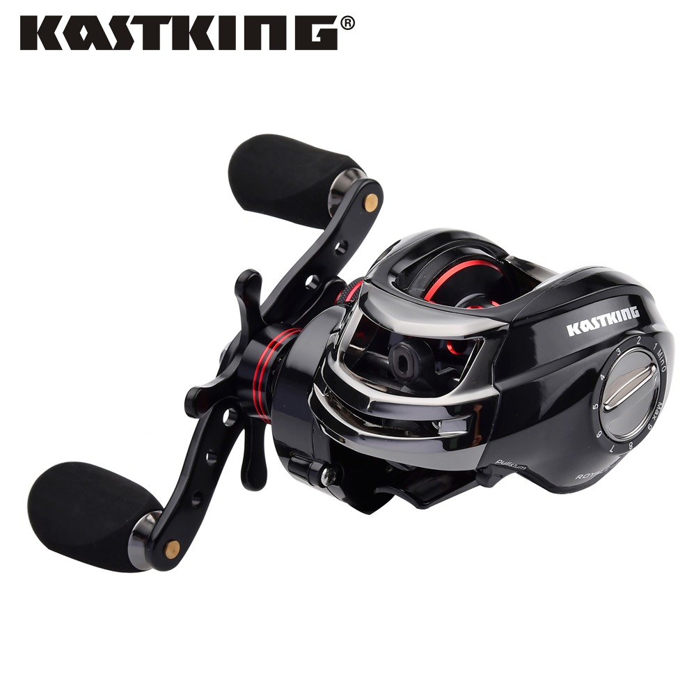 ФОТО KastKing Royale Legend High Speed Drag Power 8KG Baitcasting Reel High Quality Light Weight Carp Fishing Reel