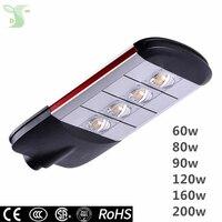 LED Уличные светильники 60 Вт 80 Вт 90 Вт 120 Вт 160 Вт 200 Вт автодороги парк стрит свет IP65 лампа Наружное освещение Плаза света