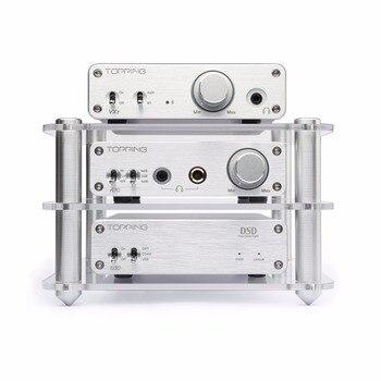 Topping D30 DSD USB DAC Decoder +A30 Amplifier + VX3 Bluetooth Power Amplifier Set Support USB DAC Home Hifi Set