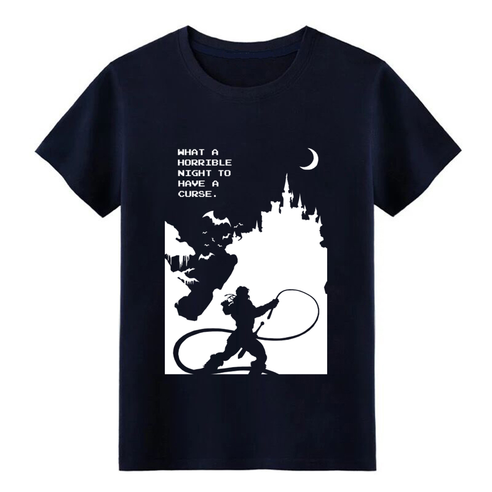 castlevania t shirt create tee shirt round Neck male Cute New Style summer Leisure shirt in T Shirts from Men 39 s Clothing