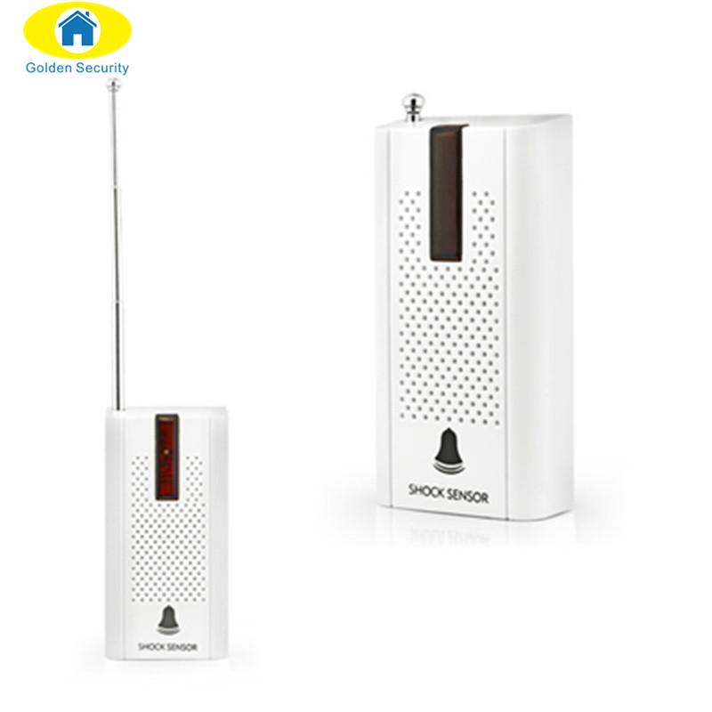 KERUI Wireless Door Window Vibration Detector Shock Sensor For Home Alarm System