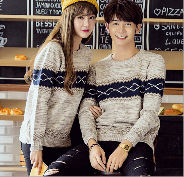 Hot Sale Men Women Fashion Winter Couple Clothes Lovers ...