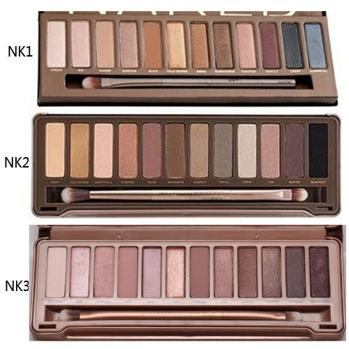 3Pcslot Naked12 Colors Brand Professional Makeup -1707