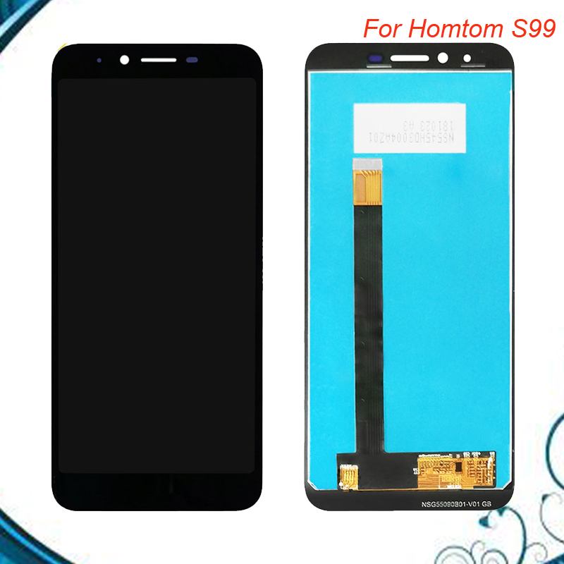 5.5 inch HOMTOM S99 LCD Display+Touch Screen Digitizer Assembly 100% New LCD+Touch Digitizer for S99