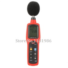 UNI-T UT351 Digital Sound Level Meter dB Decibel Meter Noise Tester Measuring Instruments 30-130dB with LCD Backlight цена