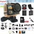 "Action camera 4K H3 / H3R Original remote action camera Ultra HD WiFi 1080P dual screen 2.0""170D Helmet go waterproof pro camera"