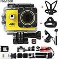 Estilo gopro hero 4 f60/f60r wifi action camera 4 k controle Remoto Extrema ir pro Mini Cam Mergulho À Prova D' Água Esporte câmera