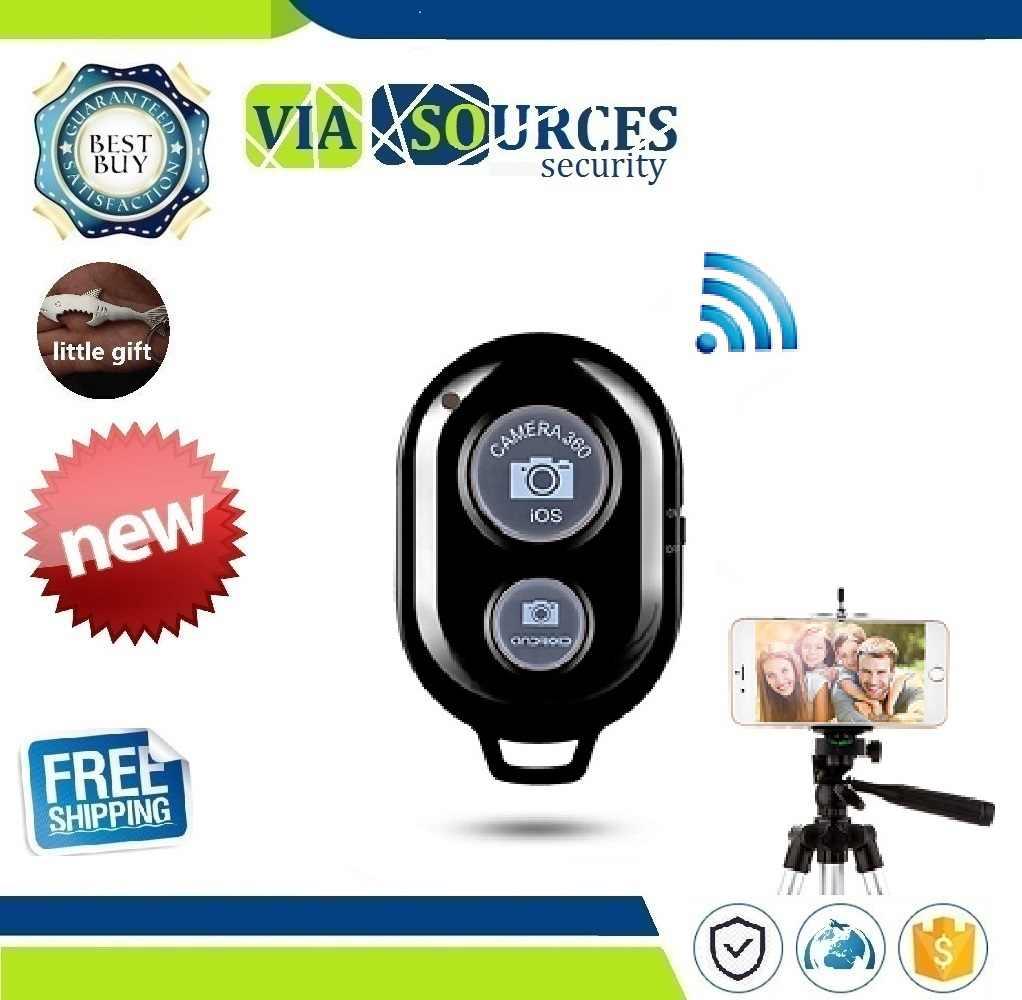 Bluetooth Автоспуск беспроводной мини пульт дистанционного управления сделать фото