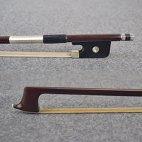 920M Master Pernambuco VIOLA BOW Ebony Frog Sterling Silver Winding Natural Horsehair Straight Strong Violin Parts Accessories