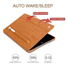 Anti-Scratch Folding Tablet Case with Pencil Slot for iPad