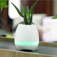 Mini K3 smart flowerpot Smart Bluetooth Music Speaker With Light Touch Plant Can Sing songs Stress Toy For Anxiety Stress Relief
