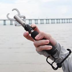 1500 шт. портативный FLG-S-001 рыболовный грейфер захват инструмент из нержавеющей стали рыболовные снасти Рыба держатель встроенные пружинные