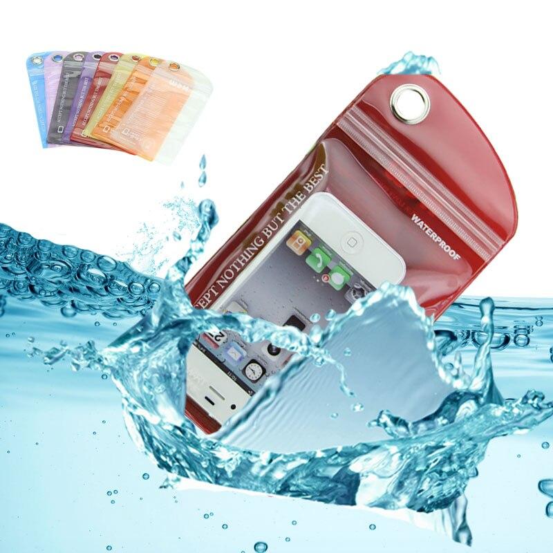 Packaging-Bag Phone-Case Plastic Waterproof for Pudding Random-Color General 10cm--20cm