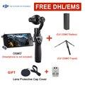 Em Estoque Câmera Com DJI DJI OSMO Plus 3-Axis Handheld 4 K FM-15 Flexi Microfone phantom 3 Eixos Cardan Estabilizador DHL EMS Livre
