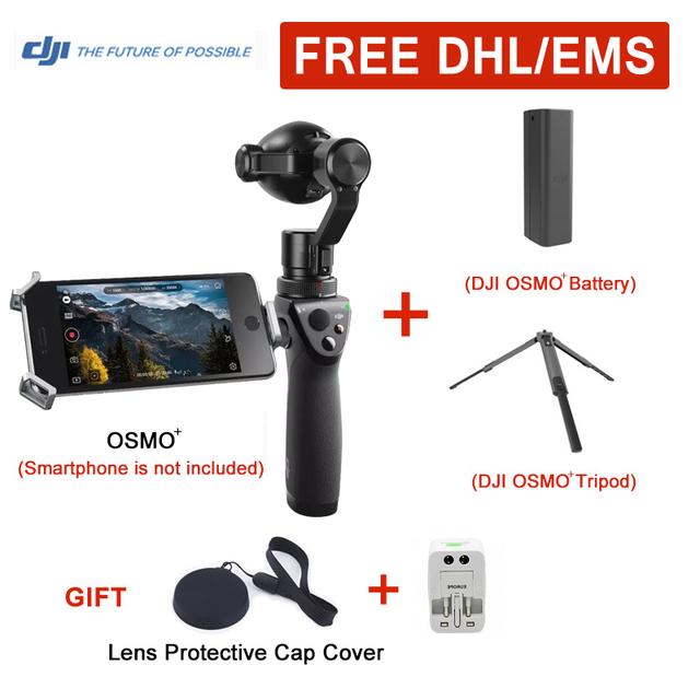 En Stock Cámara Con DJI DJI OSMO Plus $ Number Ejes de Mano 4 K FM-15 Flexi Micrófono phantom 3 Ejes Cardán Estabilizador DHL EL CCSME Libre