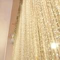 200x 100 cm Luxus Kristall Vorhang Flash Line Shiny Tassel String Tür Vorhang Fenster Raumteiler Hause Dekoration cortinas-in Vorhänge aus Heim und Garten bei