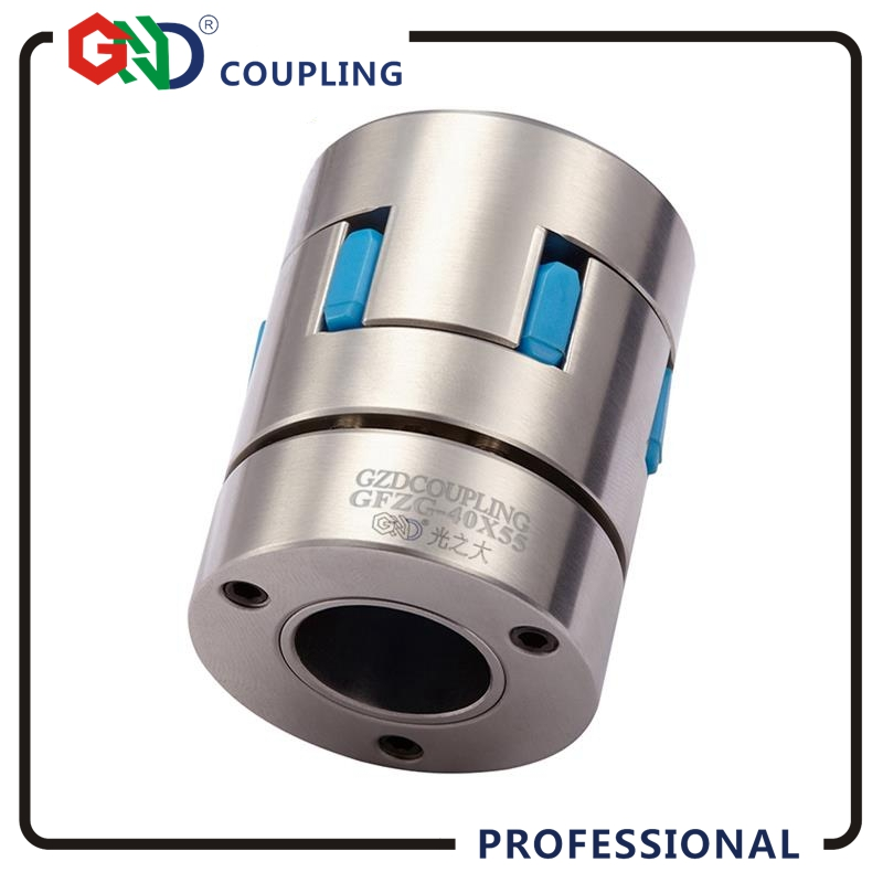 GND coupling high standard stainless steel 6mm 8mm plum jaw OD 30x50 locking CNC diaphragm sleeve shaft flexible quick coupling цена