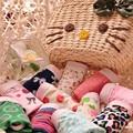 Niños nuevo adolescente niñas ropa interior de algodón ropa interior de encaje bragas al por mayor tamaño 10-20 T Multi color 2016 niños ropa interior