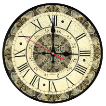 new sale wall clock wooden clocks home decor quartz watch single face still life roman number stickers modern living room