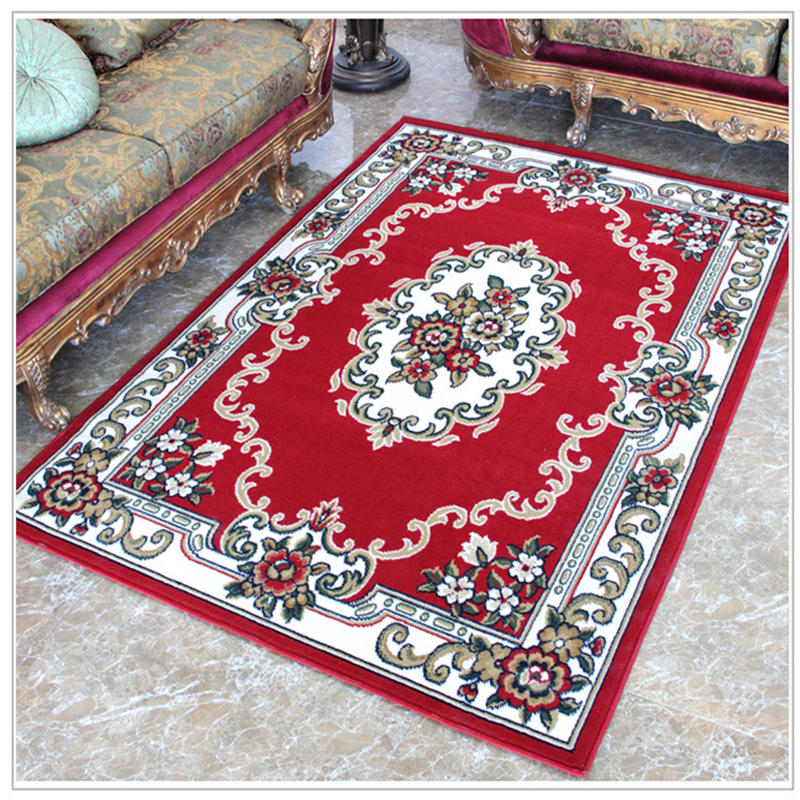 beibehang European Wilton Woven Carpet Living Room Coffee Table Bedroom Carpet Matress Door Pad Continental Woven Orbison mats