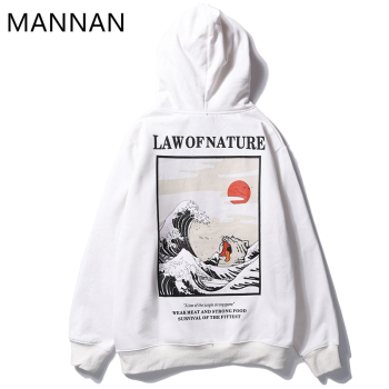 MANNAN Sweatshirt Men Hoodies Streetwear paint law of fnature,Off White Streetwear Men Hip Hop Casual Cotton офф вайт