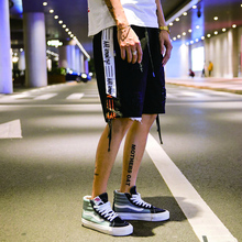 HFNF men shorts 2019  streetwear Summer Cotton Casual Short Pants Brand Clothing