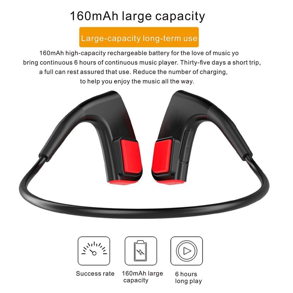 2018 nouvelle offre spéciale casque de Conduction osseuse haute qualité sport Bluetooth casque pour Android ios téléphone mobile Sports de plein air - 4