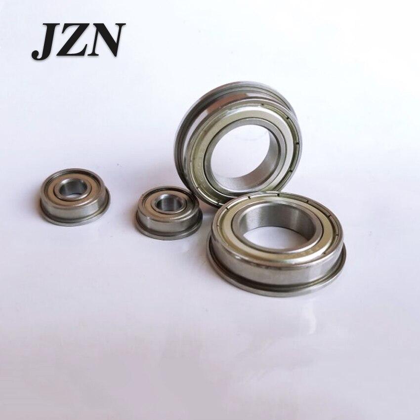 Free Shipping 10PCS Miniature Flange Bearing F682XZZ Size 2.5 * 6 * 2.6 Mm   SMF63ZZ DDLF630 673ZZ 3*6*7.2*2.5*0.6mm