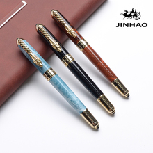 High quality Iraurita Fountain pen Full metal Golden Clip jinhao dragon luxury pens gift Caneta Stationery Office school supplie