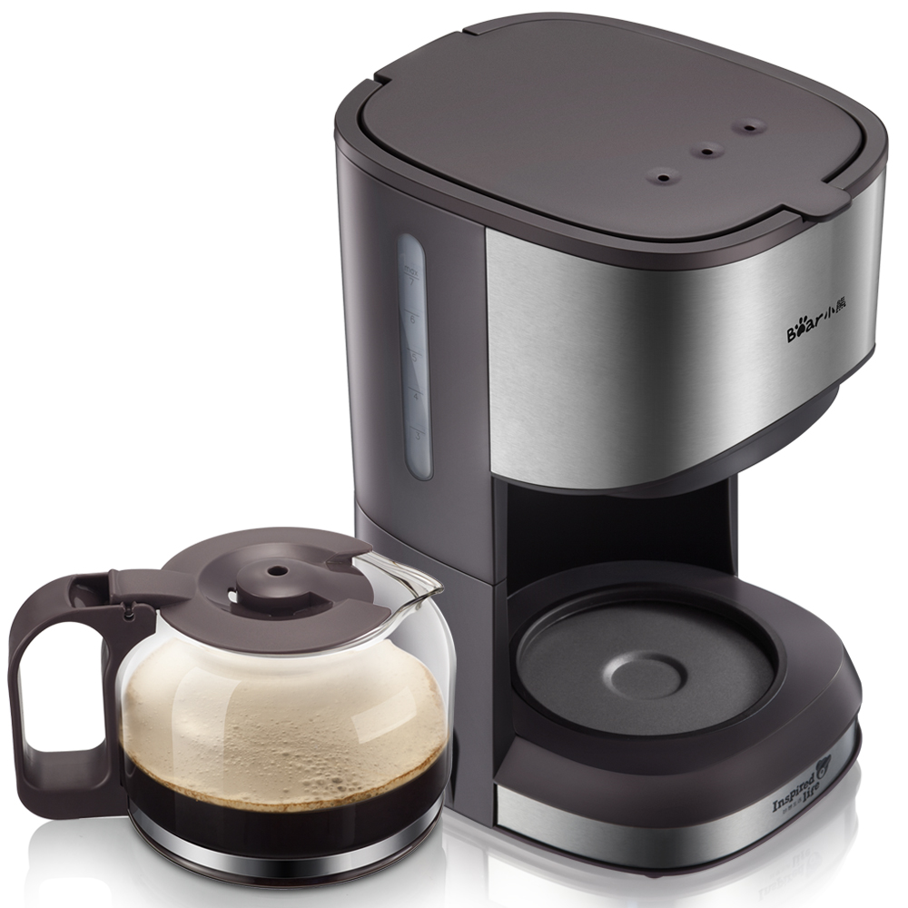 2018 American Coffee Machine Household Automatic Dripping Small Tea Coffee Pot coffee maker uses the american drizzle to make tea drinking machine