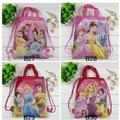 4 шт. три принцесса клуб Winx дети школьные сумки мультфильм шнурок рюкзак сумка ну вечеринку печать рюкзак Mochila подарок