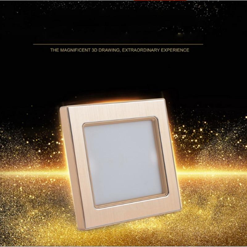 10 pièces LED escalier lumière PIR & lumière Radar capteur encastré étape lampe entrée 100 V-240 V Footlight blanc chaud escalier lampe 5-couleur