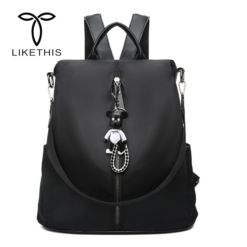 New Luxury Brand Design Women Backpack Oxford Travel Bag Female Backpack School Bags Bookbag sac a dos femme mochilas mujer 2018 backpack mogenuine leather backpacks chila feminina mochilas school bags women bag travel bagpack mochilas mujer 2018 sac a dos