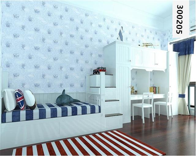 Beibehang Hangat Hewan Kecil Kertas Dinding R Anak Penebalan Kain Nonwoven Wallpaper