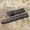 Onthelevel Echtem Retro Straußen Leder Armband 18mm 20mm 22mm Strauß Muster Armband Mit Quick Release Frühling bar
