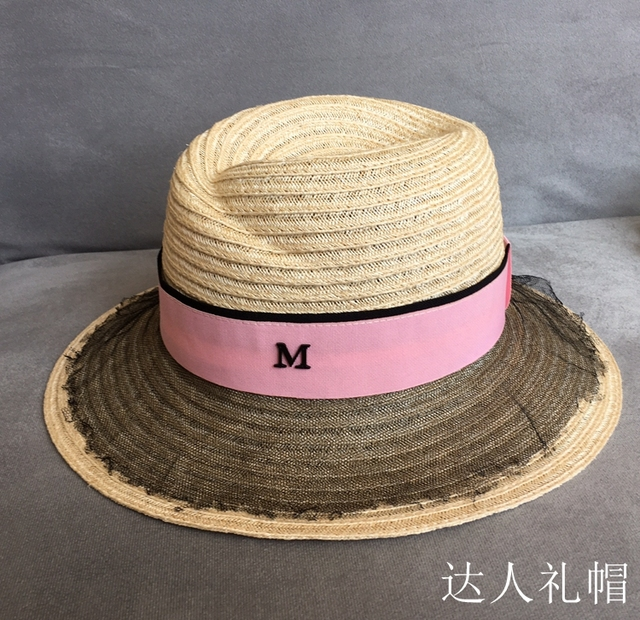 Europe and the United States M website linen yarn hat width along the sun  hat han 10d1f16848dd