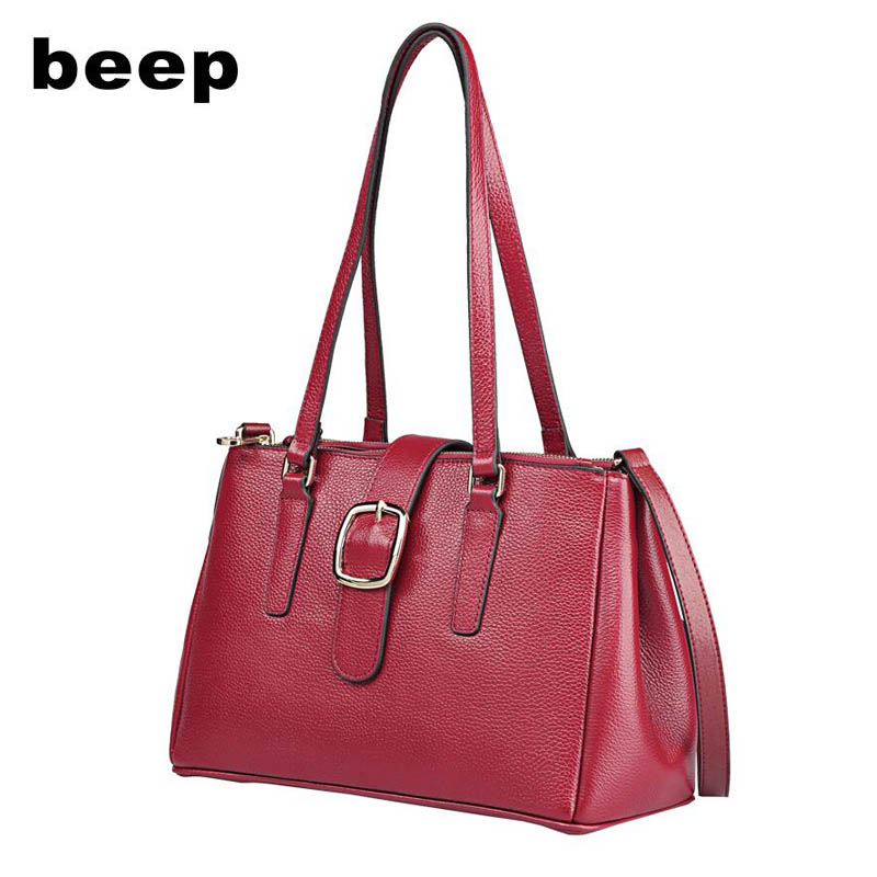 2018 New Superior cowhide Luxury fashion designer women genuine Leather bag Simple women leather shoulder bag  women's bag american luxury genuine leather women shoulder bag fashion brand designer cowhide women real leather women bag gifts for mother