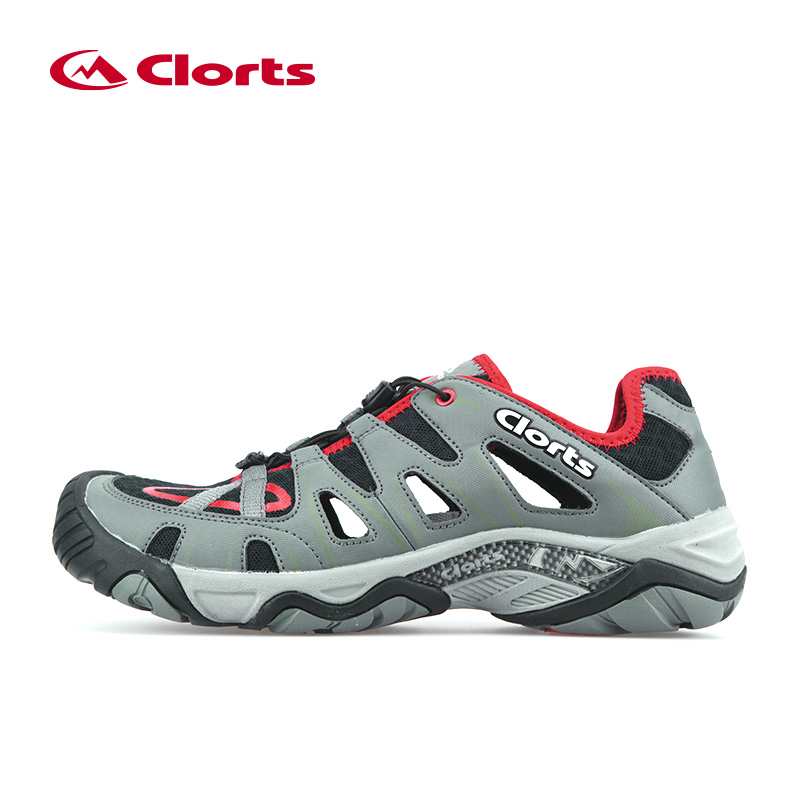 2017 Clorts Men Trekking Shoes Breathable Hiking Shoes Outdoor Hiking Sandals Aqua Water Shoes Beach Sandals Sneakers Men Shoes copiro clorts lace up outdoor hiking shoes men sneakers breathable scarpe trekking donna montagna waterproof sapato masculino