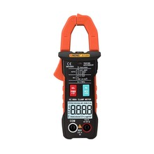 Anti-fall Digital Clamp Multimeter lanyard dispaly current wire AC DC Intelligent Automatic non-feed LED flash power measurement f47t automatic protective multimeter measurement automatically protect any file by mistake