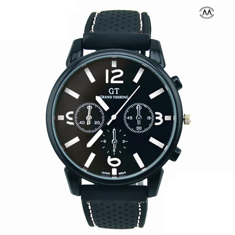 1PC Men Fashion Stainless Steel Sport Cool Quartz Hours Wrist Analog Watch Mens Watches Top Brand Luxury Erkek Saat Creative Men fantastic watch men 1pc men