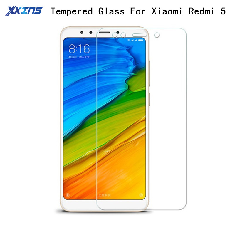 9H 2 5D Tempered Glass For xiaomi Redmi 5 kate Screen Protect smartphone Toughened Protective film clear case in Phone Screen Protectors from Cellphones Telecommunications